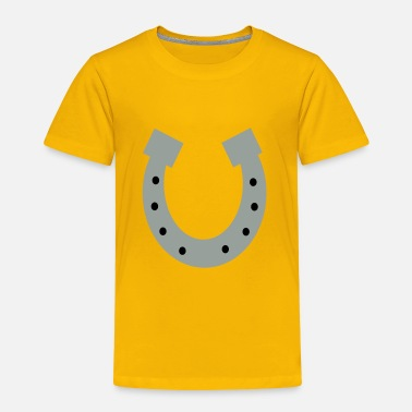 Horseshoe horseshoe - Toddler Premium T-Shirt
