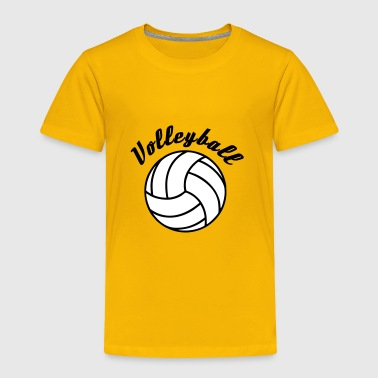 Volleyball Design - Toddler Premium T-Shirt