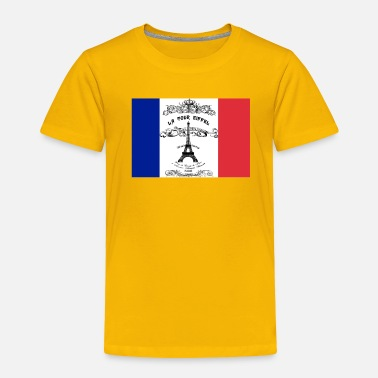 French Flag French flag Eifflel tower - Toddler Premium T-Shirt