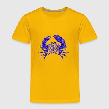 GIFT - CRAB BLUE - Toddler Premium T-Shirt
