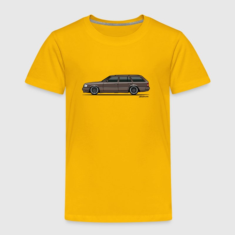 Mercedes Benz W124 300TE 300TD Wagon Anthracite - Toddler Premium T-Shirt