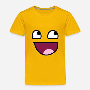 Emoji Awesome Face - Toddler Premium T-Shirt
