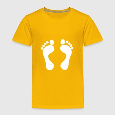 Foot - Toddler Premium T-Shirt