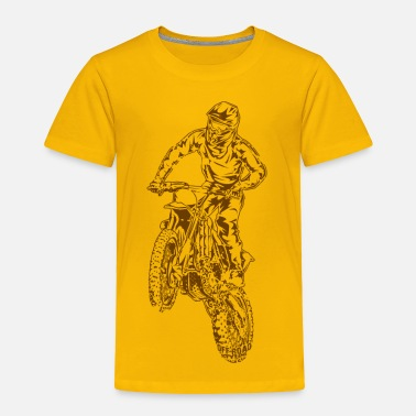 Bike Motocross Dirt Bike Jump - Toddler Premium T-Shirt