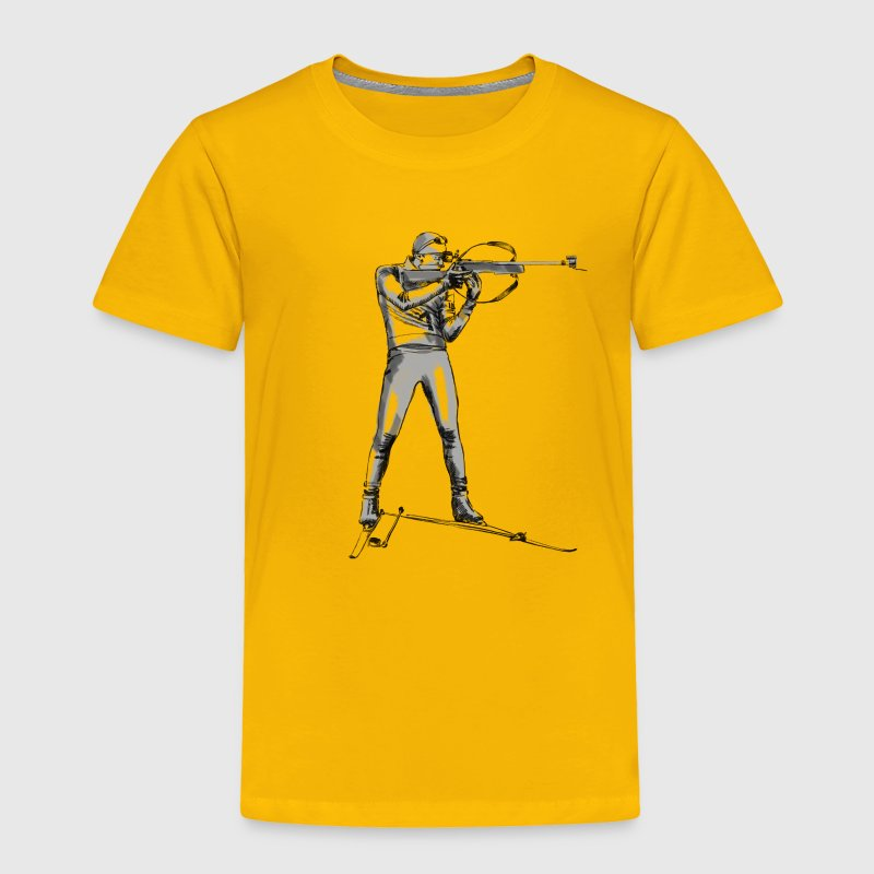 biathlon - Toddler Premium T-Shirt