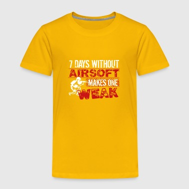 Airsoft Airsoft Shirt - Toddler Premium T-Shirt