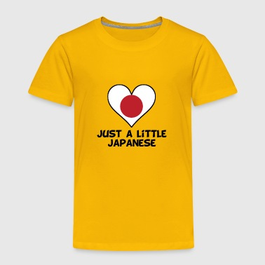 Just A Little Japanese - Toddler Premium T-Shirt