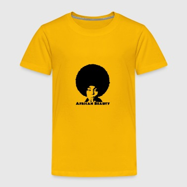 Afro African Beauty - Toddler Premium T-Shirt