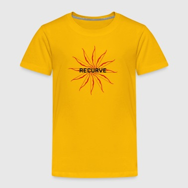 Recurve Circle (Archery by BOWTIQUE) - Toddler Premium T-Shirt