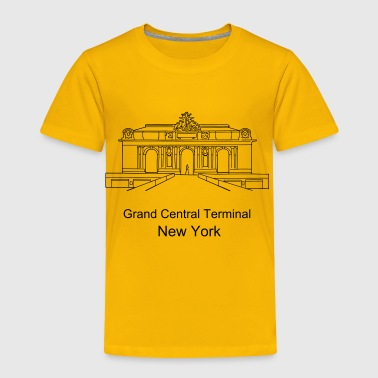 Grand Central Terminal New York - Toddler Premium T-Shirt