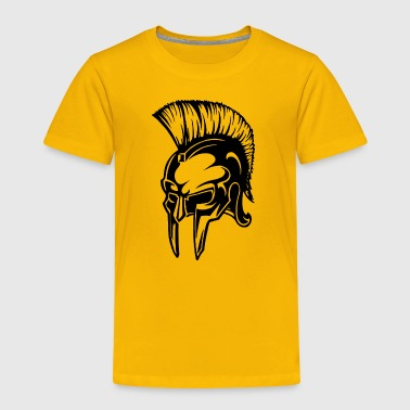 Spartan Warrior Helmet - Toddler Premium T-Shirt