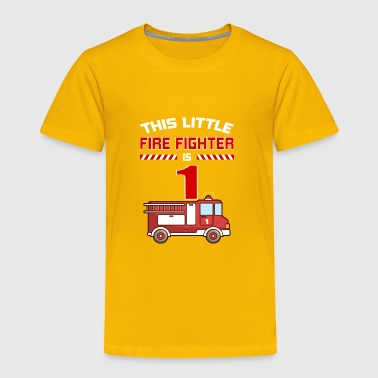THIS LITTLE FIRE FIGHTER IS 1 - Toddler Premium T-Shirt
