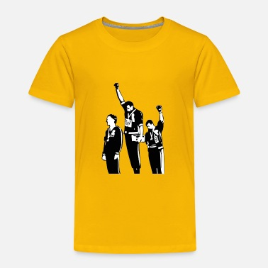 Power 1968 Olympics Black Power Salute - Toddler Premium T-Shirt