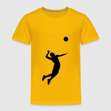Volleyball Player - Toddler Premium T-Shirt
