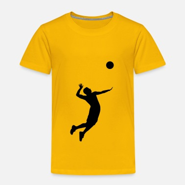 Volleyball Volleyball Player - Toddler Premium T-Shirt