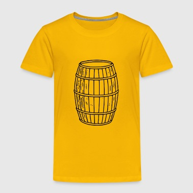 Wooden Barrel - Toddler Premium T-Shirt