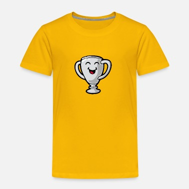 Giggle SmileyWorld Silver Giggling Trophy - Toddler Premium T-Shirt