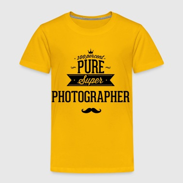 100 percent pure super photographer - Toddler Premium T-Shirt