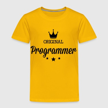 Original programmer - Toddler Premium T-Shirt