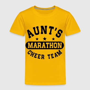 Aunts Marathon Cheer Team - Toddler Premium T-Shirt