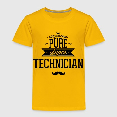 Engine Sportswear 100 percent pure super technician - Toddler Premium T-Shirt