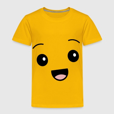 Kawaii Face Kawaii Happy Face Smiley Cute - Toddler Premium T-Shirt