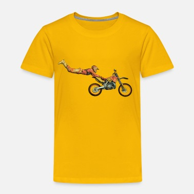 Motocross motocross freestyle - Toddler Premium T-Shirt