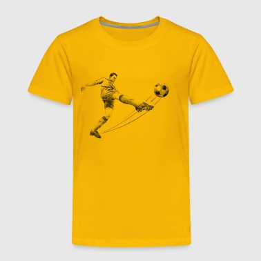 soccer player - Toddler Premium T-Shirt