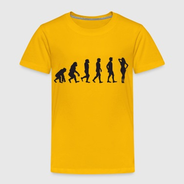 Evolution Hot Lady - Toddler Premium T-Shirt