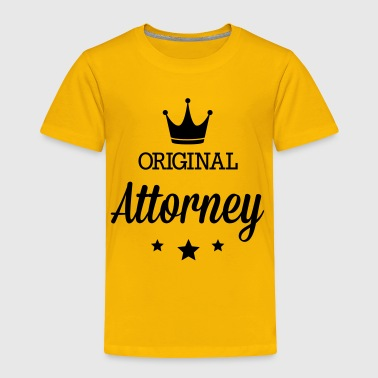 Original attorney - Toddler Premium T-Shirt