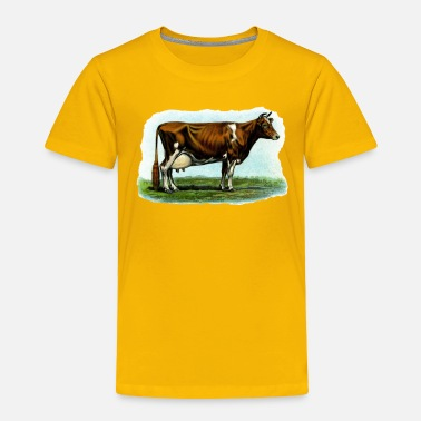 Dairy Cow Red Holstein Dairy Cow - Toddler Premium T-Shirt
