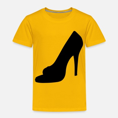 Highheels Vector highheels Silhouette - Toddler Premium T-Shirt