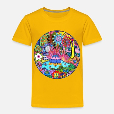 Pond Pond Abstract - Toddler Premium T-Shirt
