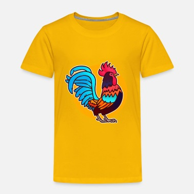 Rooster Signs of the zodiac rooster - Toddler Premium T-Shirt