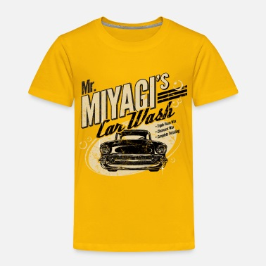 Mr. Miyagi's Car Wash - Toddler Premium T-Shirt