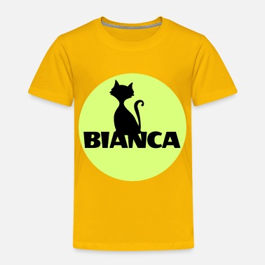 First Name Bianca name first name - Toddler Premium T-Shirt