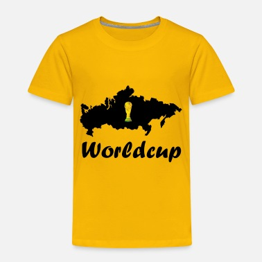 Worldcup football worldcup in russia - Toddler Premium T-Shirt