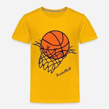 Basket Basket ball - Toddler Premium T-Shirt