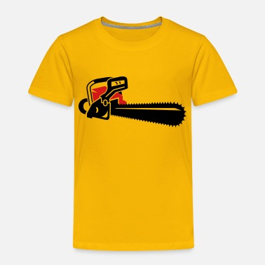 Motor A chainsaw - Toddler Premium T-Shirt