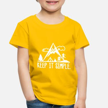 Campaign Keep it simple campaign stupid - Toddler Premium T-Shirt