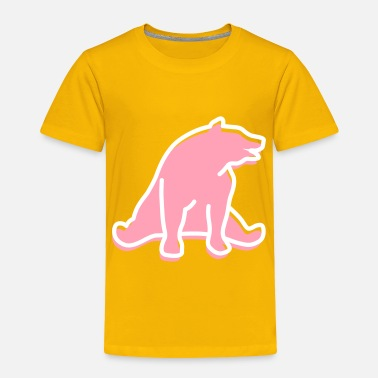 Mammal mammalian A Great Dark Bear - Toddler Premium T-Shirt