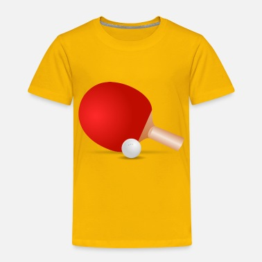 Ping Pong Ball ping pong - Toddler Premium T-Shirt