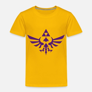 Triforce Crest - Toddler Premium T-Shirt