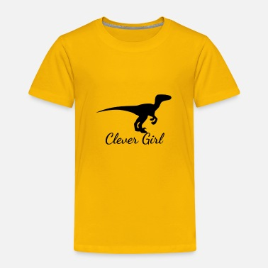 Clever Clever Girl Tshirt - Toddler Premium T-Shirt