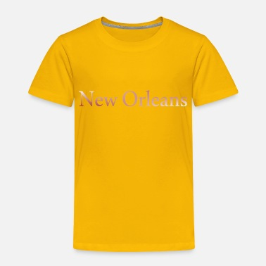 Usa New Orleans horizontal lettering gift idea - Toddler Premium T-Shirt