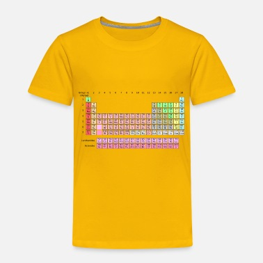 Periodic Table Geek - Periodic Table - Toddler Premium T-Shirt