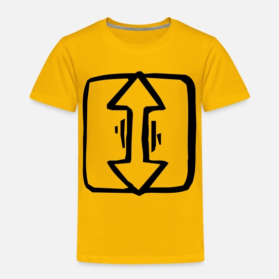 Cursor Baby Clothing - cursor 1 1 - Toddler Premium T-Shirt sun yellow