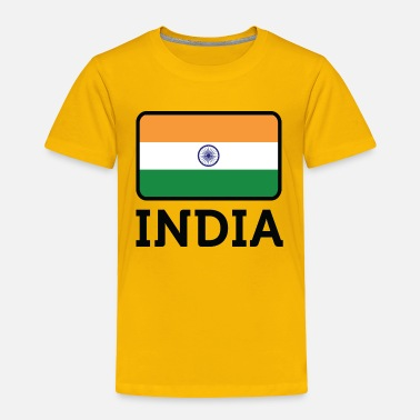 India National Flag Of India - Toddler Premium T-Shirt