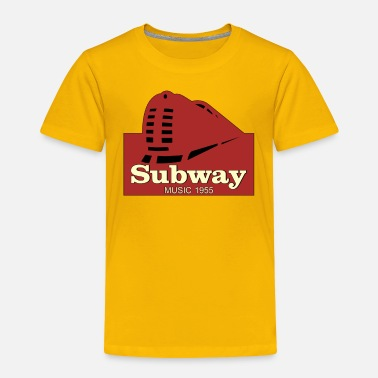Subway Subway Music 1955 - Toddler Premium T-Shirt