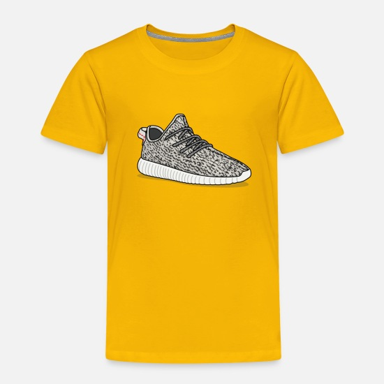 Yeezy Baby Clothing - Yeezy - Toddler Premium T-Shirt sun yellow